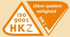 2018 Logo HKZ ISO 9001 cliënt-patiëntveiligheid